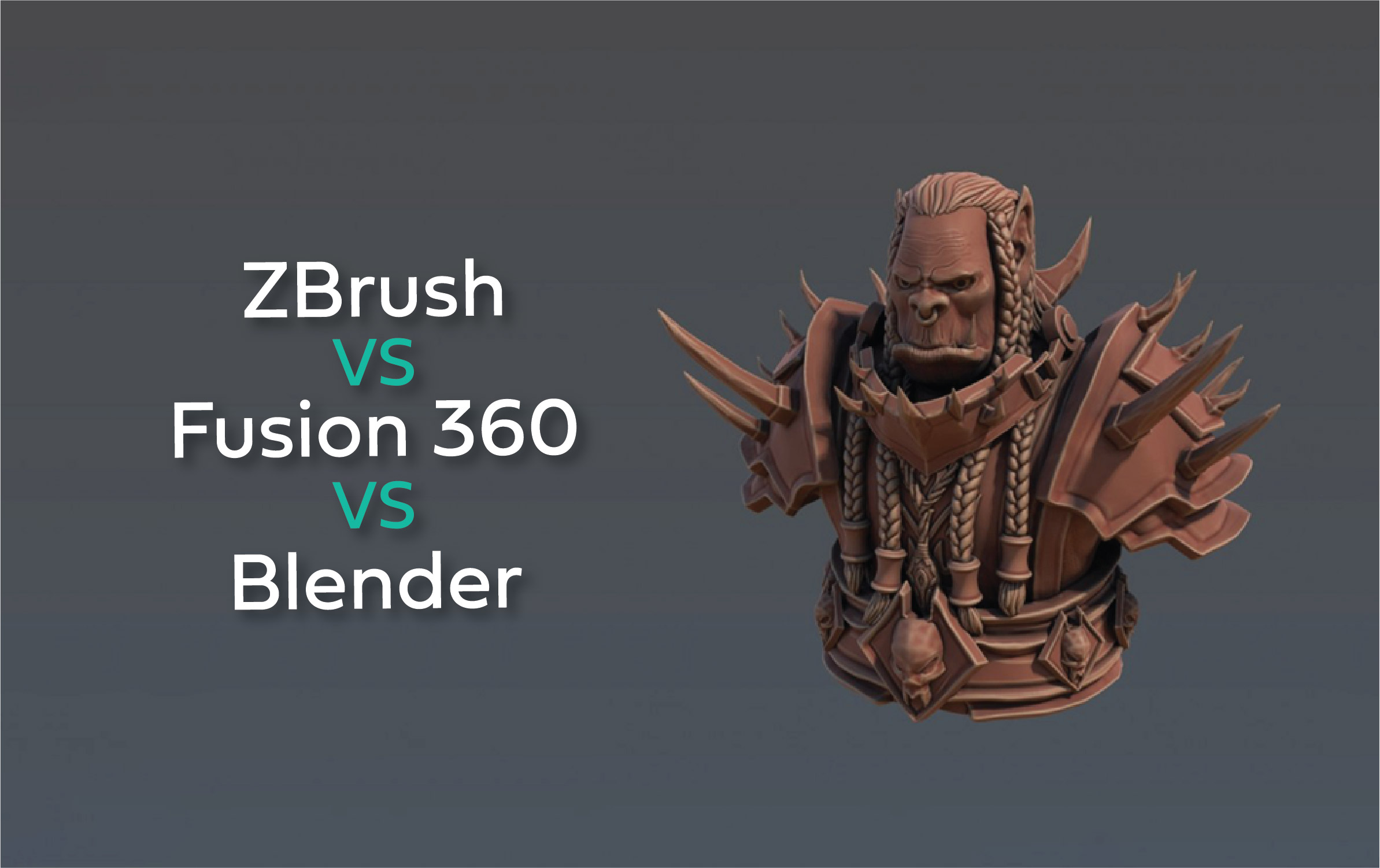 Zbrush vs Fusion 360 vs Blender, Which Program is Right For