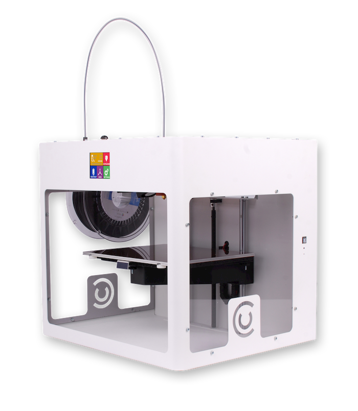 Custom Designed CraftBot Plus 3D printer