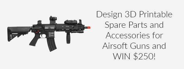 Airsoft 3D Design Challenge