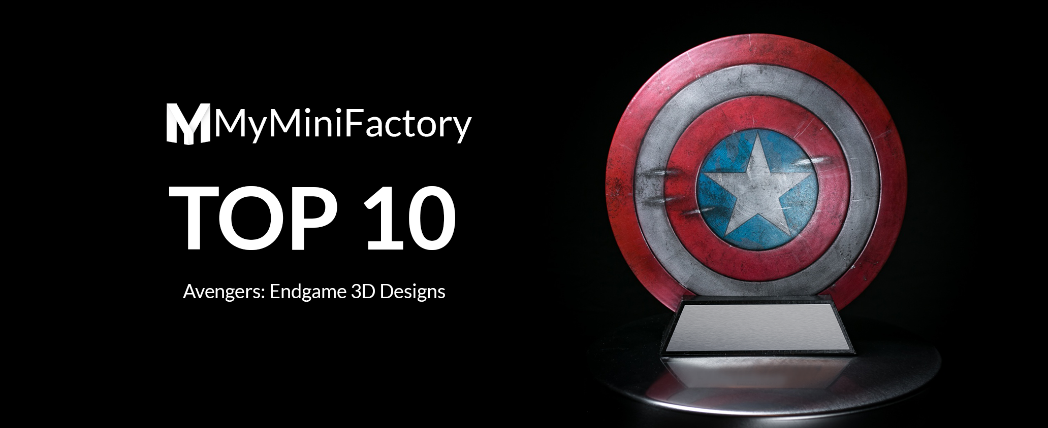 Avengers: Endgame, Top 10 Best 3D Designs to Print Now